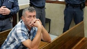 شهروند ترکیه و مظنون به قتل، آیدان دمیرحان، در دادگاه- یوسی زلیگر