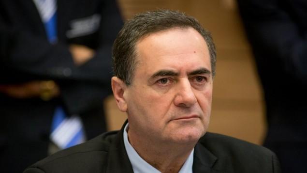 یسرائیل کاتز در جلسه کمیته ای از کنست در اورشلیم، ۲۳ مارچ ۲۰۱۶ - یوناتان سیندل