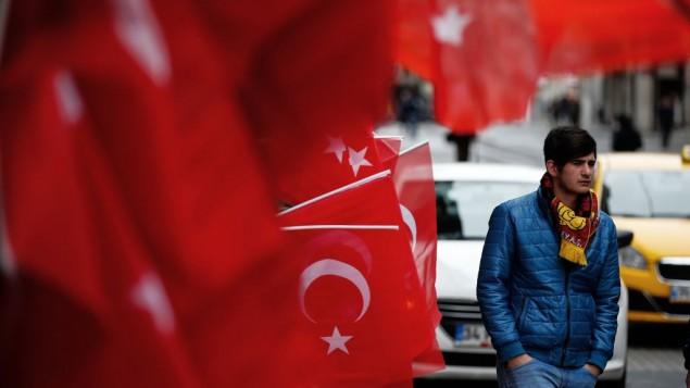 محل بمب گذاری انتحاری در استانبول
