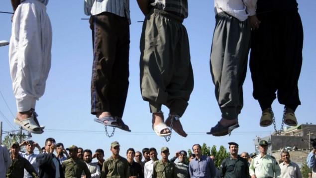 اعدامهای خیابانی در ایران - عکس از شبکه های اجتماعی