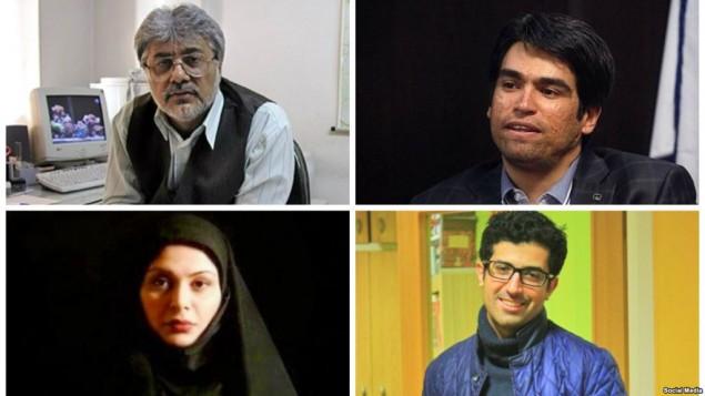 روزنامه نگاران بازداشتی