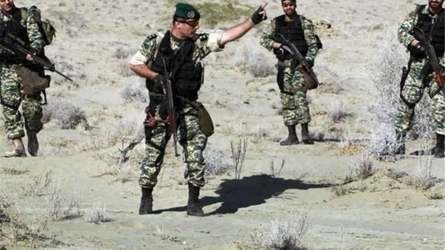 اعزام تکاوران نیروی زمینی ارتش به سوریه