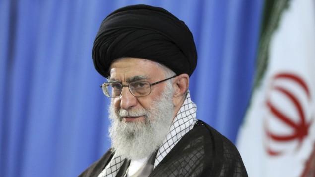 ولی فقیه ایران آیت الله خامنه ای