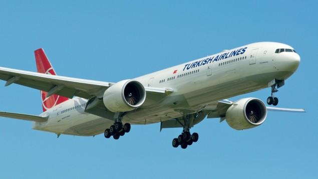 هواپیمای متعلق به هواپیمایی ترکیه- photo credit: CC BY-SA BriYYZ/Flickr/File