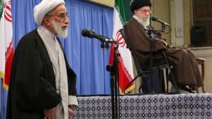 احمد جنتی رئیس مجلس خبرگان
