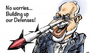 «دروغگوی بیمار» وزیر امور خارجه ایران جواد ظریف (اثر نیک آهنگ کوثر)