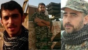 سه تن از کشته شدگان در سوریه