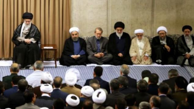 رهبر جمهوری اسلامی در دیدار با سران نظام