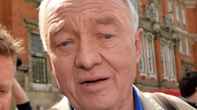 شهردار سابق لندن کن لیوینگستن
