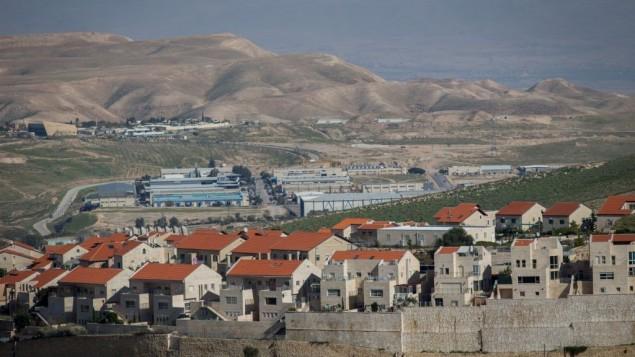 شهرک اسرائیلی معالی ادومیم در کرانه باختری
