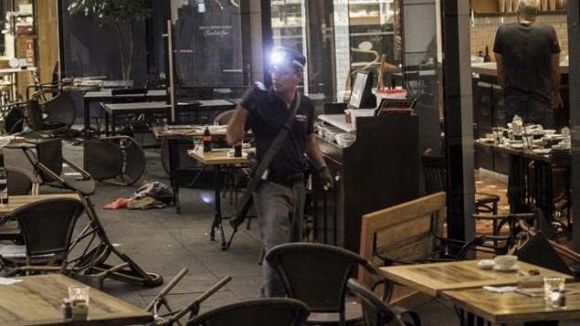 تعدادی کشته و زخمی در حمله تروریستی تیراندازی در مرکز تل آویو