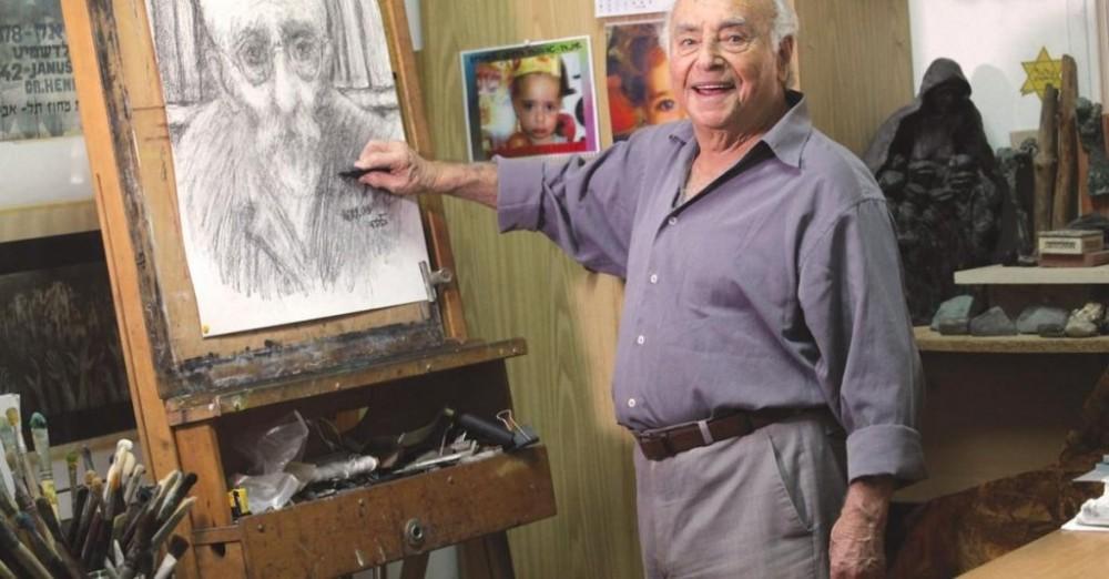 ایتسخاک بلفر (Yitzkhak Belfer) (عکس: شیلا موسایی)