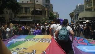 هجدهمین کارناوال سالانه همجنسگرایان در تل آویو (سوم ژوئن 2016) (عکس: شیلا موسایی)