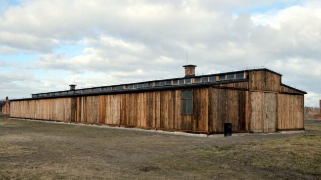 پاسدارخانه در موزه آشویتس-بیرکینوا پس از مرمت اخیر