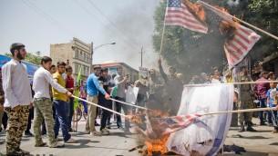 اهانت به اسرائیل و آمریکا و کشورهای منطقه در مراسم روز قدس امسال