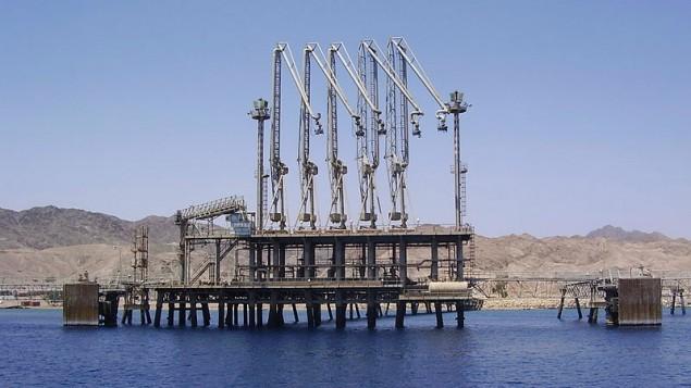 بندر بارگیری کمپانی نفت ایلات اشکلات در ایلات