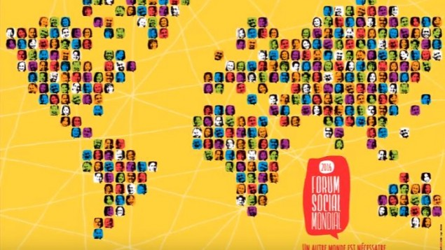 پوستر همایش اجتماعی جهانی که در فاصله ۹ تا ۱۴ آگوست ۲۰۱۶ برگزار می شود