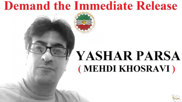 یاشار پارسا، دبیر اجرایی شورای ملی ایران
