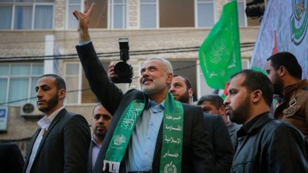 اسماعیل هنیه رییس حماس