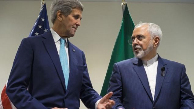 وزیر خارجه جان کری با وزیر خارجه ایران محمدجواد ظریف در سازمان ملل متحد دیدار می کند