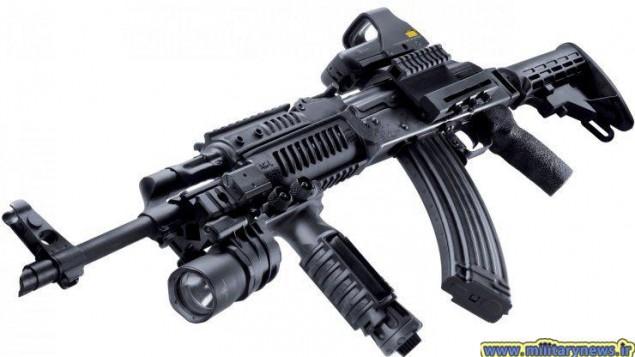سلاح های کلاشنیکف