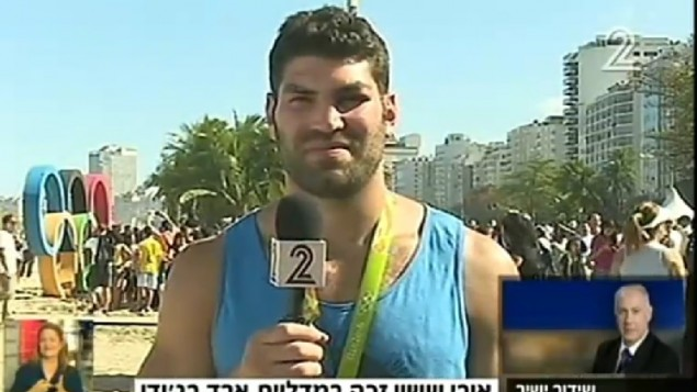 جودوکار اسرائیلی اور ساسون روز ۱۳ اوت ۲۰۱۶ یک روز پس از آن که برنده مدال برنز بازی های المپیک ریو شد، با بنیامین نتانیاهو نخست وزیر گفتگوی تلفنی داشت