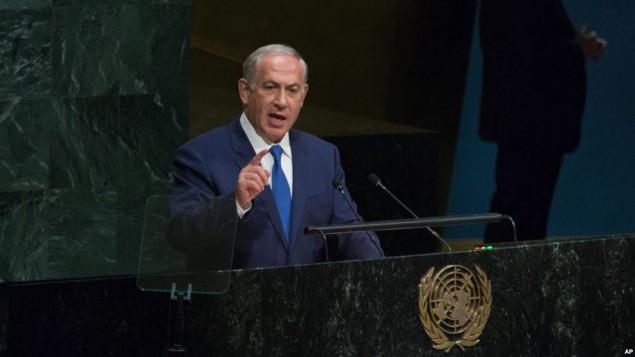 نخستوزیر بنیامین نتانیاهو