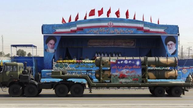 کامیون نظامی ایران، با قطعات سامانه موشکی