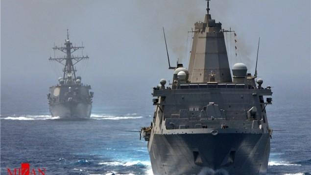 ورود ۲ کشتی جنگی روسیه به سواحل ایران