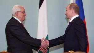 پوتین و عباس