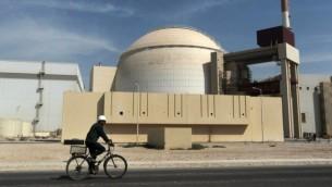 ساختمان رآکتور نیروگاه هستهای بوشهر