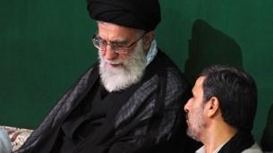 خامنه ای - احمدی نژاد