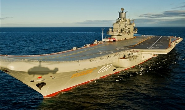 اعزام یک ناو هواپیمابر و یک کشتی جنگی توسط دولت روسیه به سوریه