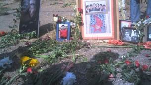 گورستان خاوران، محل دفن تعدادی از قربانیان قتل عام زندانیان سیاسی