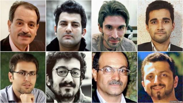 اعتصاب غذای هشت زندانی عقیدتی و سیاسی در زندان های ایران