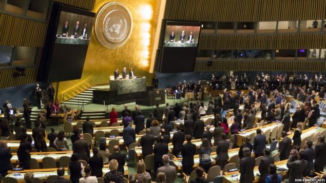 کمیته حقوق بشر مجمع عمومی ملل متحد - خبرگزاری فرانسه