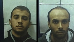 محمود عمر بدر حسن، چپ، و عموزادهی او احمد طلال احمد سیداح