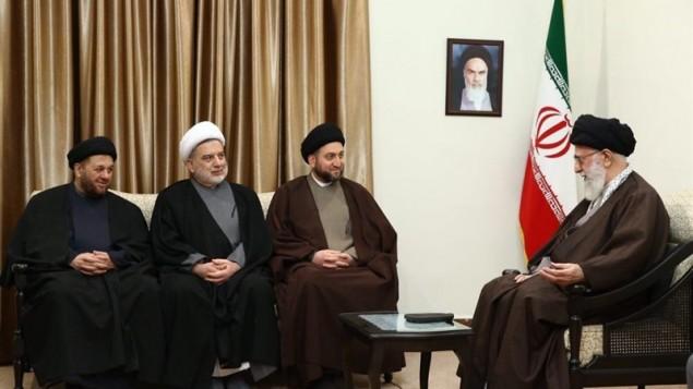 خامنه ای و رهبران شیعی عراقی