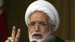 مهدی کروبی، از رهبران در حصر جنبش سبز ایران و دبیرکل حزب اعتماد ملی