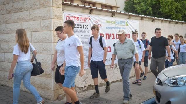 دانشآموزان اسرائیلی در نخستین روز تحصیلی