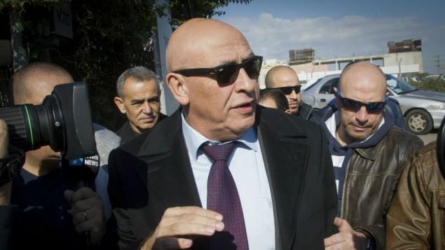 باصل قطاس نمایندهی کنست، در واحد لاحوا ۴۳۳ بازپرسی پلیس در لاد