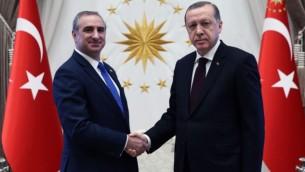 سفیر تازهی اسرائیل در ترکیه، ایتان نائح