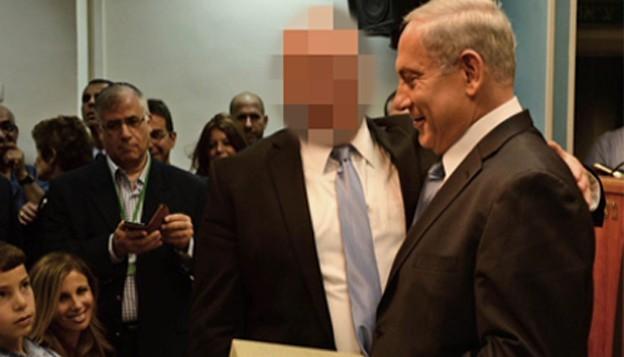 بنیامین نتانیاهو، نخستوزیر اسرائیل، به همراه همکار نزدیکاش که به خشونت و آزار جنسی علیه یک هنرمند متهم شده