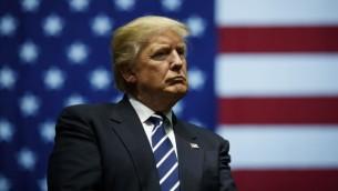 دونالد ترامپ، رئیسجمهور منتخب، در تجمعی در میشیگان