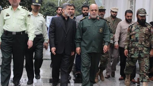 پاسدار ایرج مسجدی، مشاور ارشد قاسم سلیمانی