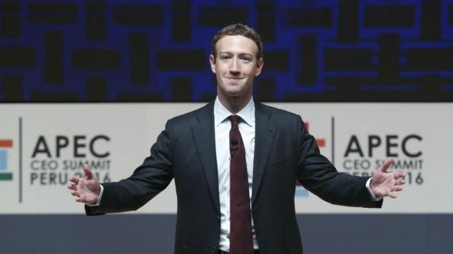 مارک زاکربرگ، رئیس و مدیرعامل فیسبوک