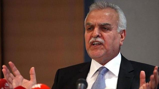 طارق الهاشمی معاون سابق رئیس جمهور عراق
