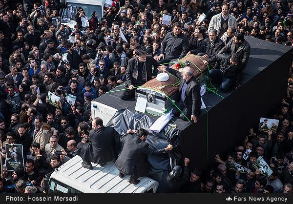 مراسم تشییع جنازه هاشمی رفسنجانی
