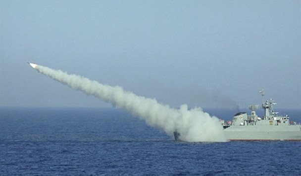 جدیدترین موشک کروز دریایی ایران با نام «نصیر»