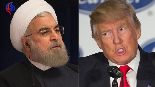 ترامپ به رئیس جمهور ایران هشدار داد که «مراقب باشد»